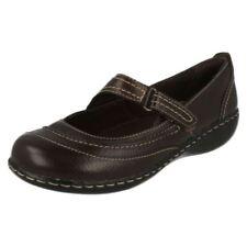 Chaussures plates et ballerines marron en cuir pour femme pointure 40
