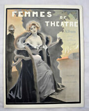 BAC, Ferdinand Femmes de Théâtre. 20 planches en couleurs