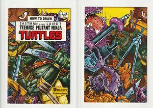 How To Draw Teenage Mutant Ninja Turtles Solson Publications Rare