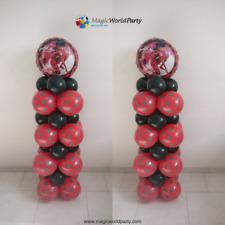 Palloncini Miraculous Kit B 2 Colonne 150cm Festa a tema Ladybug
