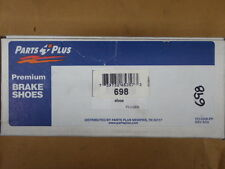 BRAND NEW PARTS PLUS 698 REAR DRUM BRAKE SHOES FITS VEHICLES LISTED ON CHART
