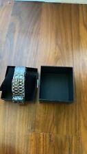 LED Wrist Watch Faceless Bracelet Metal Sport Watch