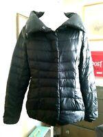 EDDIE BAUER Packable Goose Down JACKET Winter Black Warm Coat Women's M Medium