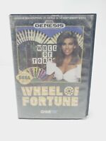 Wheel of Fortune (Sega Genesis, 1992) Complete CIB Video Game Tested Authentic