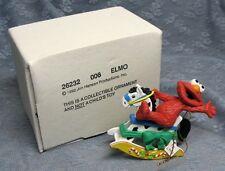 GROLIER ELMO CHRISTMAS ON SESAME STREET ORNAMENT 006 with BOX