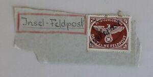 Feldpostmarken 1944 – Rodi Rhodos Inselpost – MiNr 10 Bb Platte I/1 – PETRY BPP