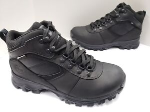 Mens Timberland Mt Maddsen Waterproof Hiking Boot Black TB02731R Medium or WIDE