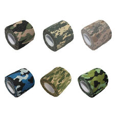 Self-adhesive Non-woven Camouflage WRAP RIFLE GUN Hunting Camo Stealth Tape 4.5M