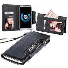 Numia Design Luxus Handytasche Apple iPhone 5 schwarz Etui Cover Case hülle Bag