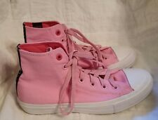 Pink Converse High Top Sneakers Size 7 Chuck Taylor All Star II Sz 8 NEW