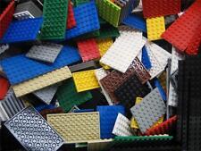 MIXED LOT OF 10 LEGO FLATS PLATES city town thin 4x4 6x8 6x10 6x6 8x8 4x8 BULK