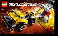 Lego--7968 - Bauanleitung --  RACERS - Nur Bauanleitung --