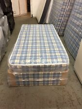 Brand new Budget divan bed with mattress- free local delivery ---