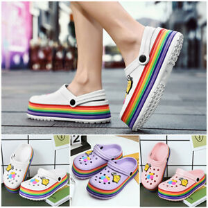 Girls  Womens Summer Casual Flat Beach Clogs Sandals Slippers Pool Water Shoes