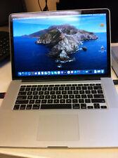 Working Apple MacBook Pro 15.4inch Mid 2012 2.6GHz Intel Quad Core i7 500 GB HD