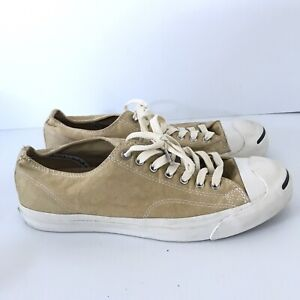 Jack Purcell CONVERSE Light Yellow Canvas Low Top Sneakers Shoes M 10 W 11.5