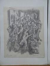 """Albert Decaris (1901-1988) dessin original crayon """"Aratus enfant"""" signé P1457"""