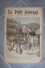 Petit journal suplemento dibujada Nº467 1899 - Transvaal Prisonniers Inglés