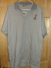 NWT  BERMUDA GRAY ANCOR GOLF POLO SHIRT 100% cotton adult XL extra large