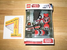 LEGO® STAR WARS UHR - mit Figur DARTH MAUL- Kinderuhr - NEU und OVP !!!