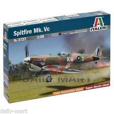 ITALERI 1/48 2727 WWII U.K U.S Spitfire MK.Vc War Plane Model Kit