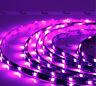 2x Pink 12 LEDs 30cm 5050 SMD LED Strip Light Flexible Waterproof 12V DIY Car