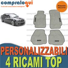 Ruvido tappetini in gomma grigio Octagon BMW 3er e46 e 46 COUPE BJ 4//99-8//06