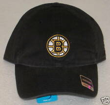 NHL Boston Bruins Women's Black Adjustable Slouch Hat By Reebok