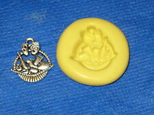 Fruit basket charm silicone mold 395 for jewerly craft candy Resin Cabochon