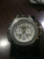 NEW Techno Master Two Tone TM-2121 Watch Men's 0,20 CTS White Diamond