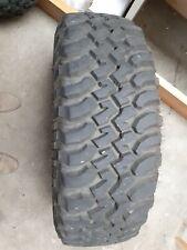 2 x BF Goodrich 255/75/17 KM Mud Terrain Tyres