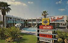 VAGABOND Motor Hotel Roadside Motel SAN DIEGO, CA Pool c1950s Vintage Postcard