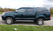 Toyota Hilux Invincible D4D 2.5L, 2006 Leather seats Metallic Green NO VAT