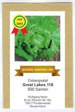 Eisbergsalat - Great Lakes 118 - Preisgewinner (500+ Samen)