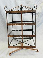 Acabado de metal de cobre antiguo Joyas/Pendientes Display Stand-nuevo y en caja (B)