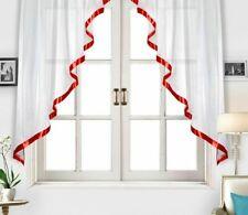 Sheer Tulle Curtains Kitchen Window Treatments European American Style Decor New