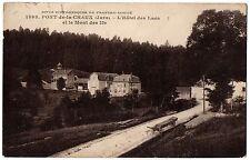 CPA 39 - PONT DE LA CHAUX (Jura) - 1598. L'Hôtel des Lacs et le Mont des Ifs