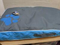 Dog Bed Waterproof Crate Cushion Car Medium Blue Pet Cushion 85 x 55 x 8 cm