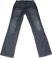 Esprit L32 hohe Damen-Jeans im Gerades Bein-Stil
