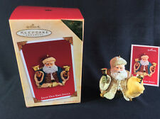 Nib Hallmark Keepsake 2004 Jolly Old Kris Jingle Holiday Ornament Exclusive Vip