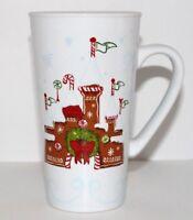 Disney Parks Starbucks Christmas Gingerbread Castle Ceramic Tumbler Coffee Mug