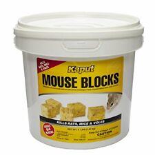 Mouse Blocks 71305 Kills Rats Mice and Voles - 4lbs Bucket Topselling
