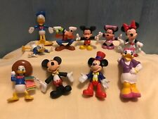 Disney Store Mickey Mouse Set 10 Figurines