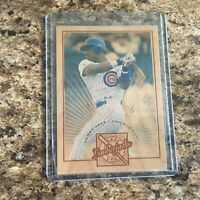 1996 LEAF LIMITED SAMMY SOSA #2 LUMBERJACKS /5000 Chicago Cubs