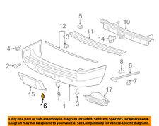 GM OEM Rear Bumper-Trim Cover Nut 11610049