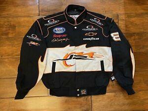 Dale Earnhardt Jr #8 JR Motorsports Jacket Mens Size Large NASCAR Busch Series