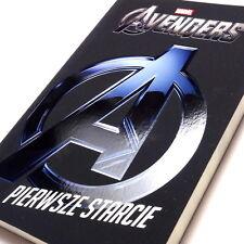 Polish Book - Marvel Avengers First Clash. Polska Książka Pierwsze Starcie