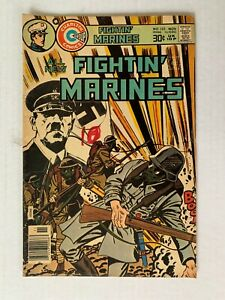 FIGHTIN' MARINES #132 Charlton - November 1976 - VG/FN 5.0