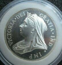 1893 QUEEN VICTORIA SILVER PROOF PATTERN DOUBLE FLORIN FROM THE SPINK COLLECTION