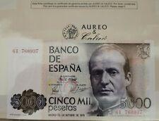 Billete de 5000 pesetas del 1979 plancha  serie 6I